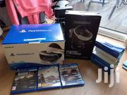Sony Playstation 4 PS VR With Box And Free Games | Video Game Consoles for sale in Dar es Salaam, Ilala