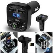 Car X8 Dual USB Bluetooth Car Charger & FM Transmitter MP3 Player | Vehicle Parts & Accessories for sale in Dar es Salaam, Ilala