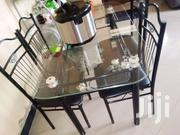 Dinning Table With 4 Chairs | Furniture for sale in Dar es Salaam, Kinondoni
