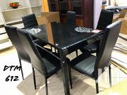 Black Dining Table With Chairs | Furniture for sale in Dar es Salaam, Kinondoni