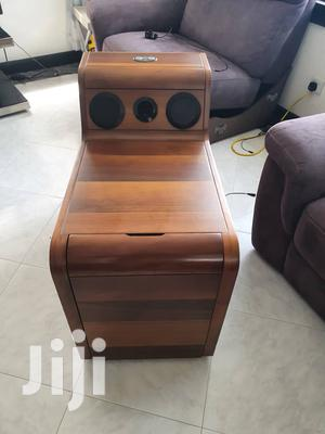 Wine Cabinet With Speakers