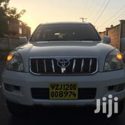 New Toyota Land Cruiser Prado 2004 White | Cars for sale in Dar es Salaam, Kinondoni