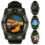 V8 Smart Watch | Accessories & Supplies for Electronics for sale in Dar es Salaam, Ilala